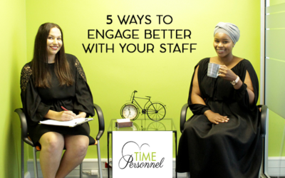 5 Ways to engage better with your Staff
