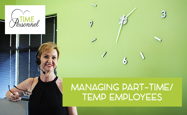 Managing Part-Time Employees