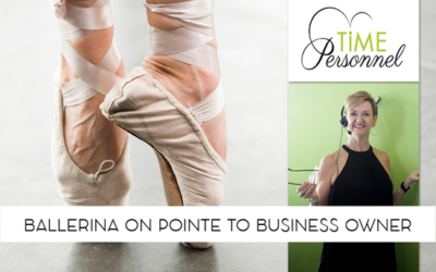 Ballerina on Pointe to Business Owner in Recruitment