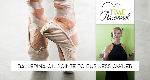 BALLERINA on POINTE to BUSINESS OWNER