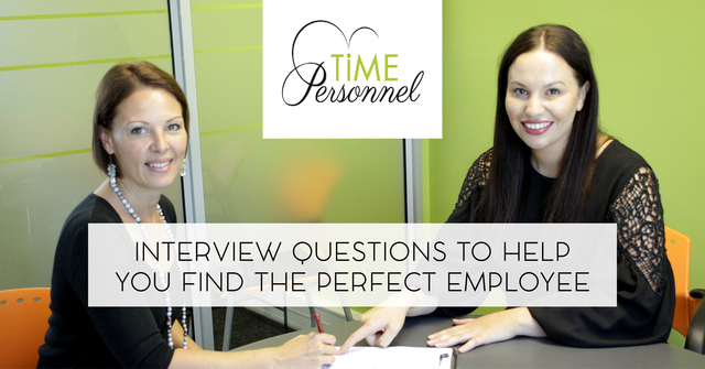 And, we all want to find the perfect Employee – Interview Guideline