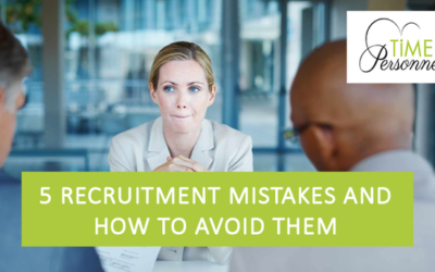 5 Recruitment mistakes and how to avoid them?