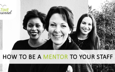 How to be a Mentor to your Staff