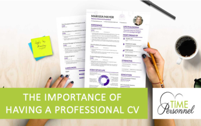 The Importance of a Professional CV