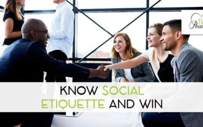 Know Social Etiquette and Win