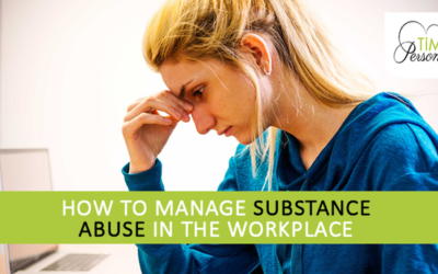 How to manage substance abuse in the workplace?