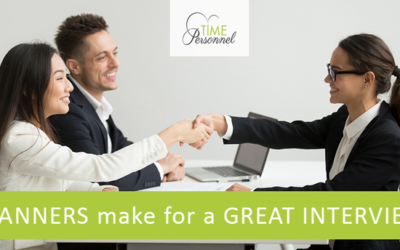 When recruiting staff manners at the interview tell us so much