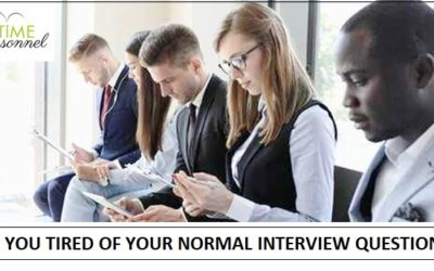 Are you tired of your normal recruitment questions?