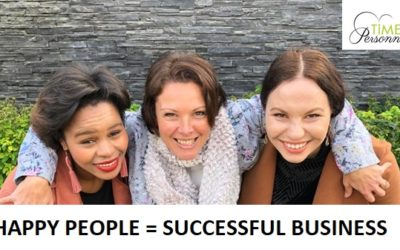 HAPPY PEOPLE = SUCCESSFUL BUSINESS