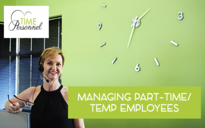 Managing Part Time Employees