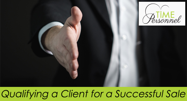 Qualifying a Client for a successful sale