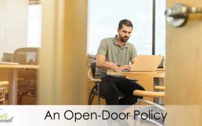 At TIME PERSONNEL we believe in an Open-Door Policy